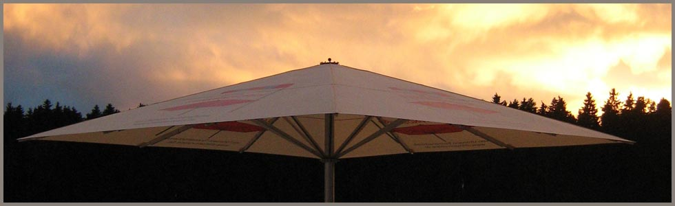 StrongWind Umbrella - Large commercial Umbrella by Uhlmann
