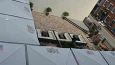 Large Patio Umbrellas - Printing