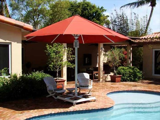 Patio Umbrella with Lights