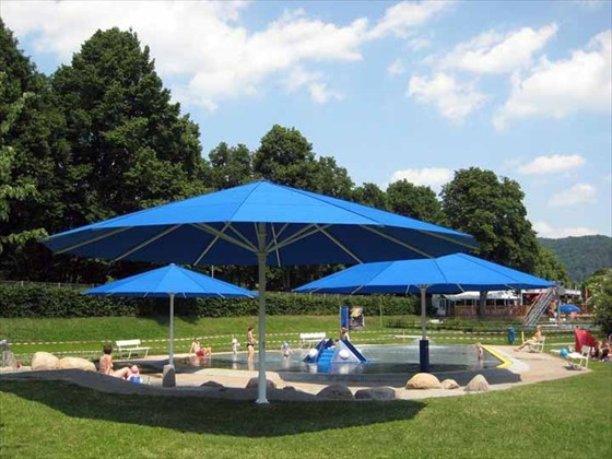 Giant Umbrellas Manufactured In Germany By Uhlmann