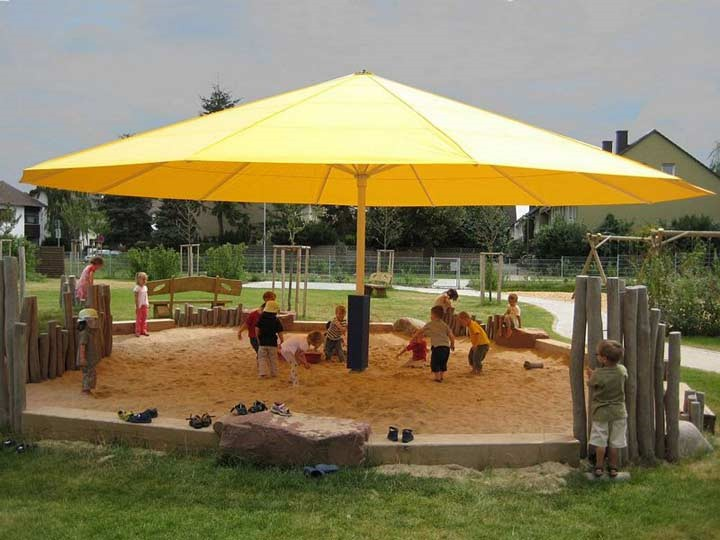 Giant Umbrella - Municipal Playground  - Germany